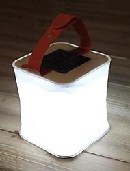 Недорогие -LuminAID Походные светильники и лампы LED излучатели Водонепроницаемый Складной Солнечная батарея Походы / туризм / спелеология Белый