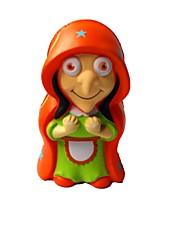 お買い得  -スクイーズおもちゃ ストレス解消グッズ 魔女 キュート 便利なグリップ 減圧玩具 マイクロセルポリマーシート 1 pcs 子供 成人 フリーサイズ おもちゃ ギフト