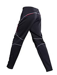 Недорогие -Муж. Велобрюки Велоспорт Нижняя часть Классика Черный + Щепка Одежда для велоспорта / Слабоэластичная