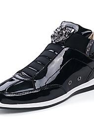 Недорогие -Муж. Комфортная обувь Полиуретан Осень На каждый день Спортивная обувь Доказательство износа Золотой / Черный / Серебряный