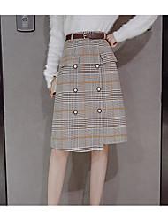 Недорогие -женские выходы midi карандашные юбки - цветной блок