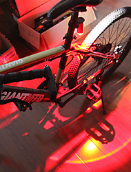 billiga -säkerhetslampor - Cykellyktor LED Cykelsport Vattentät, Bärbar, Quick Release Li-polymer 150 lm Uppladdningsbara batterier Multifärg Cykling