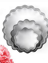 baratos -Ferramentas bakeware Alumínio Gadget de Cozinha Criativa Utensílios de Cozinha Inovadores Redonda Ferramentas de Sobremesa 3pçs