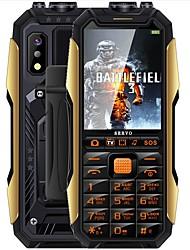 """Недорогие -SERVO X7 TV Phone 2.4 дюймовый """" Сотовый телефон ( Other + Другое 0.3 mp 4000 mAh mAh )"""