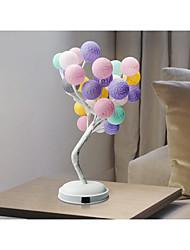 billige Originale lamper-1pc Varmluftsballong LED Night Light Varm hvit DC-drevet Oppladbar <5 V