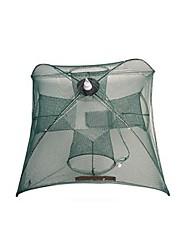Недорогие -Складной зонт рыболовный краб ловушка для креветок 0.65 m Нейлон 3*3 mm Портативные / Регулируется / Прост в применении