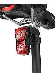 Недорогие -Светодиодная лампа Велосипедные фары Задняя подсветка на велосипед огни безопасности Горные велосипеды Велоспорт Водонепроницаемый Супер яркий Портативные AAA 1000 lm Аккумуляторы Красный