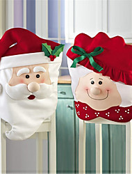 cheap -Chair Cover Party Accessories Christmas / Party / Evening Christmas / Santa Suits / Creative Nonwoven