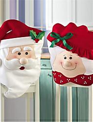 abordables -Housse de Chaise Accessoires Parti Noël / Fête / Soirée Noël / Costumes de père noël / Créatif Non-tissé