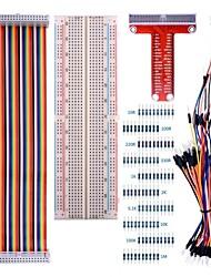 Недорогие -для малинового набора pi 3 с 830 связующими макетами и 40-контактным радужным кабелем
