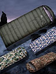 Недорогие -Спальный мешок на открытом воздухе Кокон -10~5 °C Пух белой утки Дышащий Дожденепроницаемый Теплый Ультралегкий (UL) Толстые Износостойкость Осень Зима для