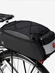 Недорогие -ROSWHEEL 10 L Сумки на багажник велосипеда Большая вместимость Водонепроницаемость Дожденепроницаемый Велосумка/бардачок 600D Ripstop Велосумка/бардачок Велосумка Велосипедный спорт
