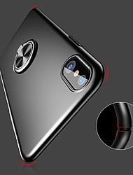 Недорогие -Кейс для Назначение Apple iPhone XR / iPhone XS Max Кольца-держатели / Ультратонкий / Матовое Кейс на заднюю панель Однотонный Твердый ПК для iPhone XS / iPhone XR / iPhone XS Max