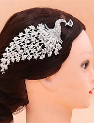 Недорогие -Сплав Расчески / Инструмент для волос с Crystal / Rhinestone 1 шт. Свадьба / Особые случаи Заставка