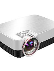 Недорогие -Factory OEM Q6 ЖК экран Бизнес-проектор / Проектор для домашних кинотеатров Светодиодная лампа Проектор 4000 lm Поддержка 1080P (1920x1080) 30-120 дюймовый Экран