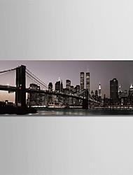 baratos -Estampado Laminado Impressão De Canvas - Arquitetura Moderno Modern