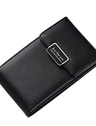 baratos -Mulheres Bolsas PU Telefone Móvel Bag Ziper Verde Escuro / Cinzento Escuro / Vinho