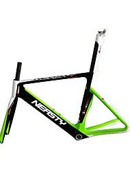 Недорогие -Рама для  гоночного велосипеда Углеродное волокно Велоспорт Рамка 700C Неприменимо Однонаправленные см дюймовый
