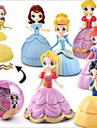 お買い得  -ストレス解消グッズ 家族 プリンセス シンプル ソフトプラスチック 1 pcs 子供 フリーサイズ おもちゃ ギフト
