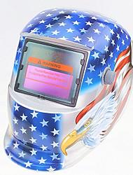 Недорогие -солнечный автомат для потемнения сварочный шлем 107 серебряный орел