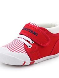 Недорогие -Мальчики / Девочки Обувь Хлопок Наступила зима Обувь для малышей Ботинки На липучках для Дети Красный / Синий / Светло-синий