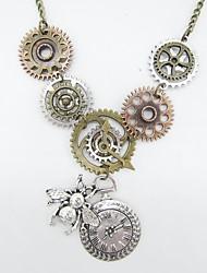 Недорогие -Жен. Старинный Винтажное ожерелье - Пчела, Шестерня Винтаж, Steampunk Cool Античная бронза 61 cm Ожерелье Бижутерия 1шт Назначение Подарок, Для улицы