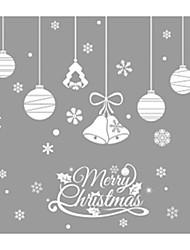 baratos -Autocolantes de Parede Decorativos - Muro de férias Adesivos Formas / Natal Interior / Quarto das Crianças