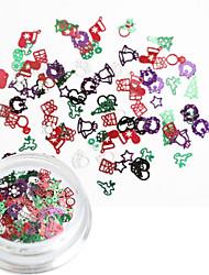 ieftine -1 pcs Multi Function / Cea mai buna calitate Materiale ecologice Bijuterie unghii Pentru Crăciun nail art pedichiura si manichiura Crăciun / Festival La modă / Modă