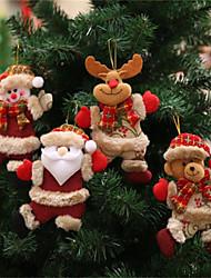 Недорогие -Праздничные украшения Новый год / Рождественский декор Рождество / Рождественские украшения Мультипликация / Для вечеринок / Декоративная 1шт
