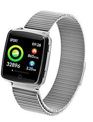 baratos -Indear BL89 Pulseira inteligente Android iOS Bluetooth Esportivo Impermeável Monitor de Batimento Cardíaco Medição de Pressão Sanguínea Tela de toque Podômetro Aviso de Chamada Monitor de Atividade