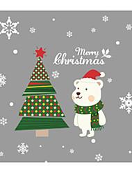 Недорогие -Декоративные наклейки на стены - Праздник стены стикеры Животные / Праздник Столовая / Детская