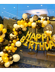 Недорогие -Воздушный шар Латекс 50 День рождения