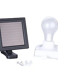 Недорогие -1шт 1 W LED прожекторы / Светодиодный уличный фонарь / Солнечный свет стены Водонепроницаемый / Работает от солнечной энергии / Декоративная Белый 3.2 V Уличное освещение / двор / Сад 2