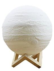Недорогие -Юпитер лампа похлопал триколор 20 см умные огни mxd1 2002 3d печать свет дома декоративные ночной свет для подарка