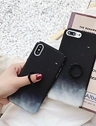 Недорогие -Кейс для Назначение Apple iPhone XR / iPhone XS Max Кольца-держатели / Ультратонкий / Матовое Кейс на заднюю панель Пейзаж Твердый ПК для iPhone XS / iPhone XR / iPhone XS Max