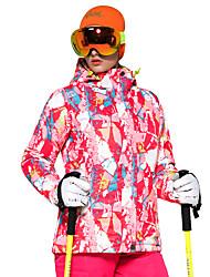 abordables -Femme Veste de Ski Chaud, Ventilation, Pare-vent Ski / Multisport / Sports d'hiver Polyester doudoune / Anorak en Duvet Tenue de Ski