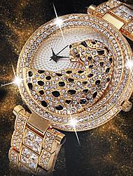 Недорогие -Жен. Наручные часы Японский Японский кварц Нержавеющая сталь Серебристый металл / Золотистый 30 m Творчество Новый дизайн Cool Аналоговый Дамы Роскошь Мода -  / Два года / Имитация Алмазный