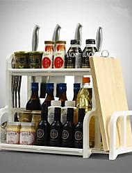 baratos -Organização de cozinha Organizadores de talheres Plástico Armazenamento / Fácil Uso 1pç