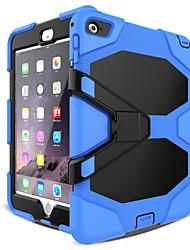 Недорогие -Cooho Кейс для Назначение Apple iPad mini 4 / iPad Mini 3/2/1 Защита от удара / Защита от пыли / Защита от влаги Чехол Камуфляж / броня Твердый ПК / силикагель для iPad Mini 3/2/1 / iPad Mini 4