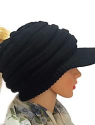 저렴한 -여성용 베이직 야구 모자 - 솔리드 / 겨울
