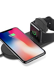 billiga -Cwxuan Trådlös laddare USB-laddare USB med kabel / QC 3,0 / Trådlös laddare 1 A DC 9V / DC 5V för Apple Watch Series 4/3/2/1 / Apple Watch Series 3 / Apple Klocka Serie 2 iPhone X / iPhone 8 Plus