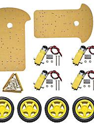 Недорогие -новый продукт! шасси для автомобилей Smart / четырехколесный двухуровневый автомобиль Smart Tracing K-002 / кузов расширен