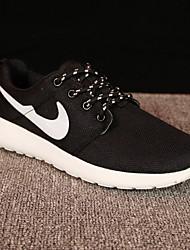 Недорогие -Муж. Комфортная обувь Сетка Наступила зима Деловые / На каждый день Спортивная обувь Дышащий Контрастных цветов Белый / Черный / Атлетический / Амортизирующий
