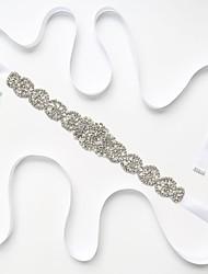 economico -Miscela polyester / cotone Matrimonio / Occasioni speciali Fusciacca Con Con diamantini / Perle false Per donna Fasce
