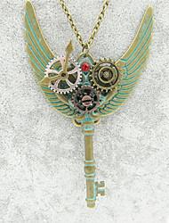 رخيصةأون -نسائي فينتاج قلائد الحلي - أجنحة عتيق, Steampunk برونز 65 cm قلادة مجوهرات 1PC من أجل حفل / مساء, هدية
