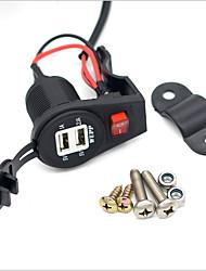 Недорогие -LOSSMANN Автомобильное зарядное устройство Зарядное устройство USB USB Несколько разъемов / Нормальная 2 USB порта 3.1 A DC 12V-24V для Универсальный