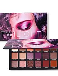 baratos Maquiagem para os Olhos-18 cores Sombra para Olhos Sombra de olho duradouro Maquiagem para o Dia A Dia / Maquiagem para Dias das Bruxas / Maquiagem de Festa Maquiagem Cosmético