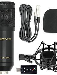 Недорогие -BM-8003 Проводное Микрофон Конденсаторный микрофон Ручной микрофон Назначение ПК