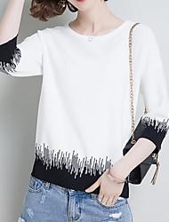 povoljno -ženska vunena košulja s dugim rukavima - mješavina boja