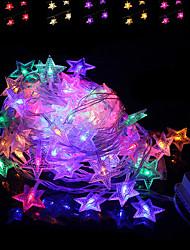 Недорогие -brelong led красочный водонепроницаемый праздник украшения свет строк 1 шт